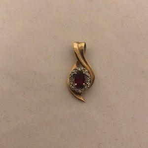 Jewelry - Ruby Pendant